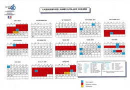 Calendrier Scolaire 2019 2020 Excel.Calendrier Scolaire 2019 2020 Snes Mayotte